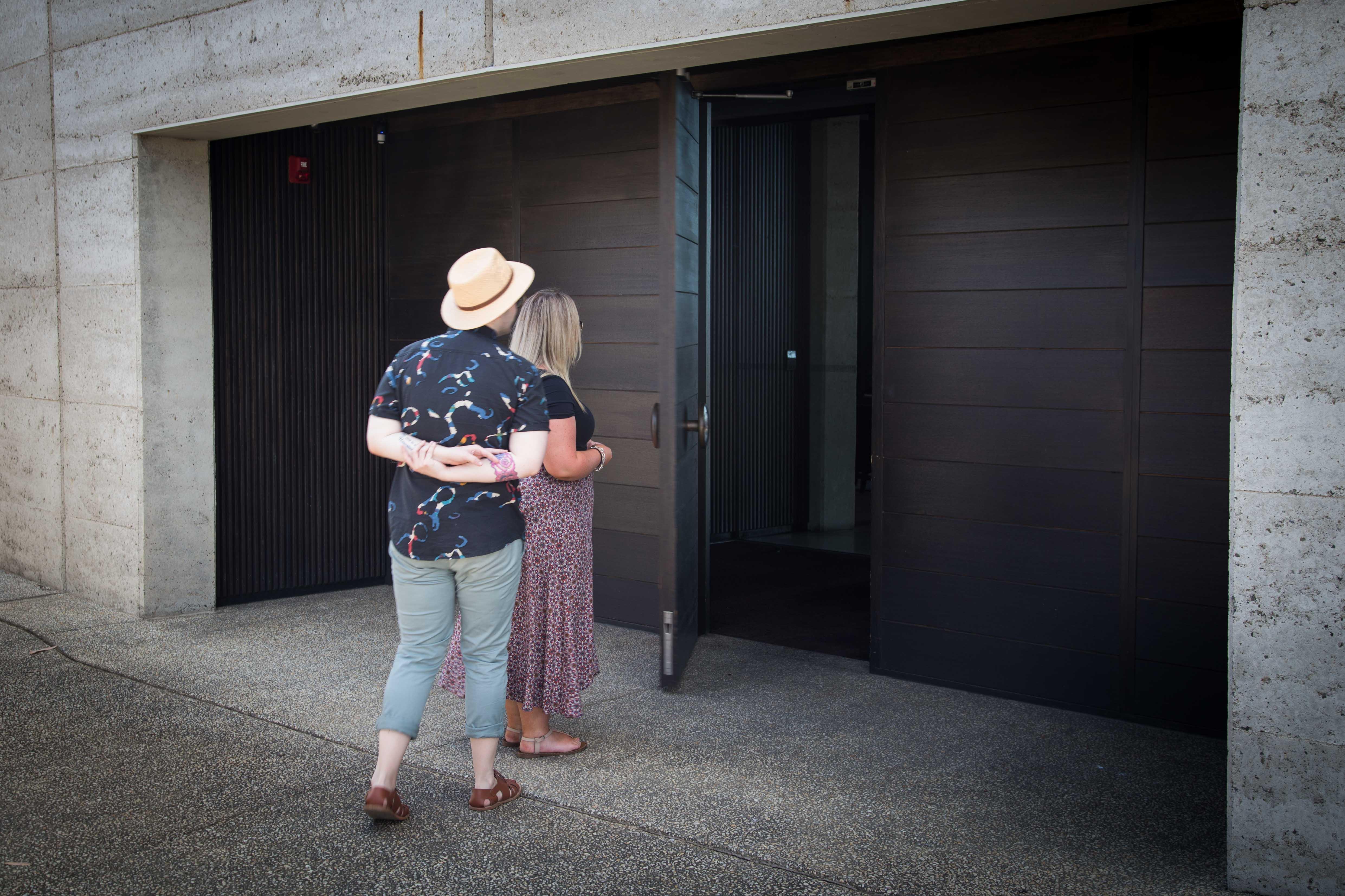 Entering Port Phillip Estate, Mornington Peninsula