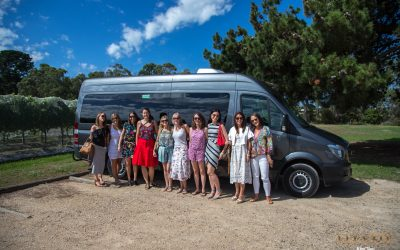 Winery tour with friends on the Mornington Peninsula