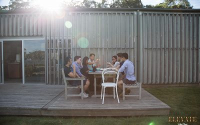 Work Colleagues on a Winery Tour of the Mornington Peninsula