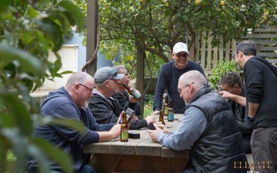 West Australian Friends on a Winery Tour of the Mornington Peninsula