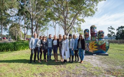 Wine Touring with Friends on the Mornington Peninsula