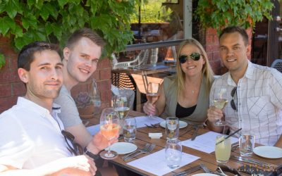 Taking Danish friends on a tour of the Yarra Valley wine region