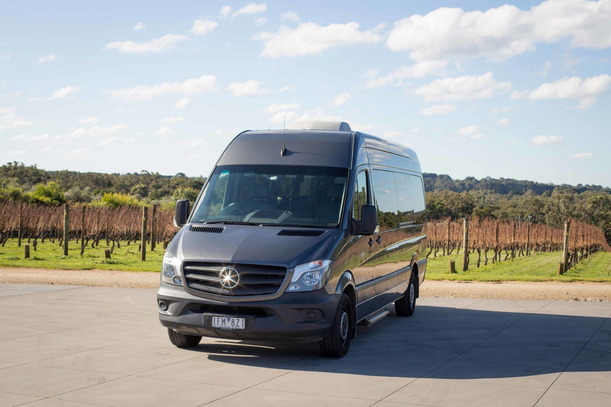 11 passenger Mercedes-Benz Sprinter