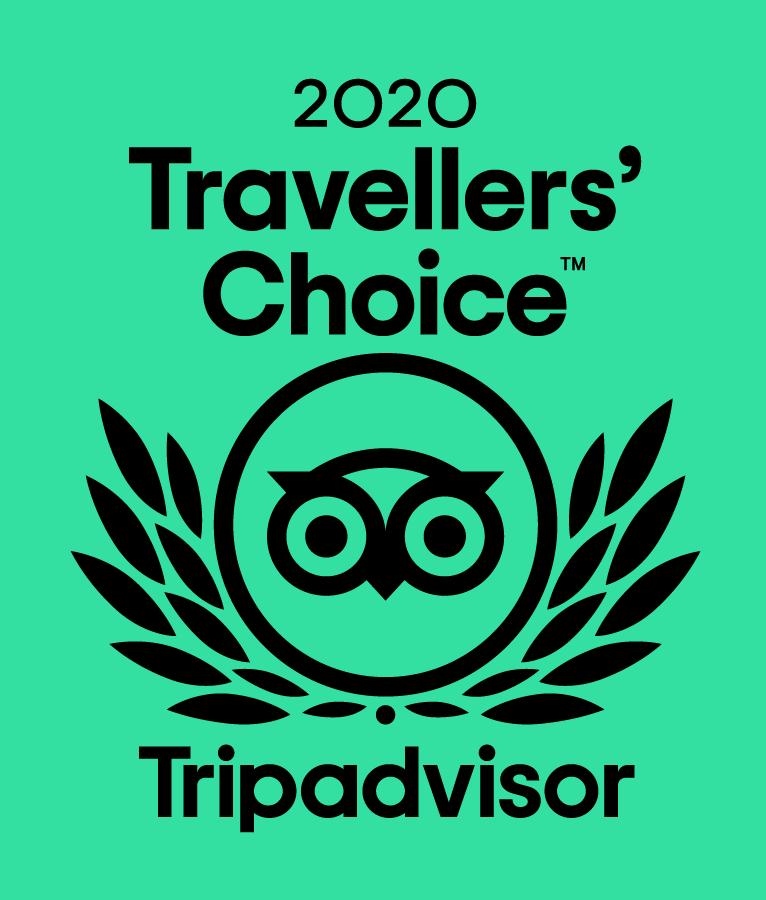 2020 Travellers Choice Award